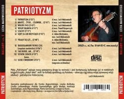 PATRIOTYZM - CD